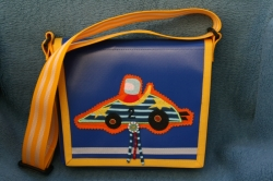 Kindergartentäschli Rennfahrer