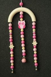 Mini-Trapez *rosa Eulensternenhimmel*