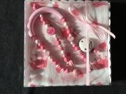 Trapez-Set *rosa Prinzessin*