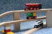 Eisenbahn Brückenstütze (doppelte Höhe)