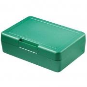 Znünibox Rechteck gross Metallic Grün 60 Stück