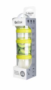 Blender Bottle - GoStak Starter 4er Pack